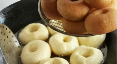 Невероятно вкусные пончики с начинкой или без тают во рту