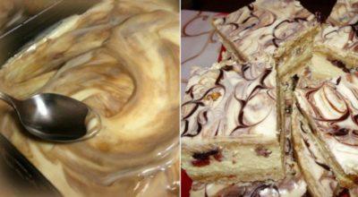 Очень вкусное пирожное «Королевский мрамор»