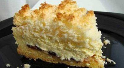 Пирог «Кудряшкин» с нежной творожной начинкой