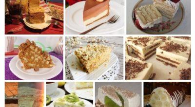 Потрясающая подборка из 10-ти рецептов тортов из печенья