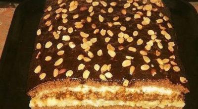 Невероятно вкусный «Домашний» торт. Попробовав раз, готовлю постоянно