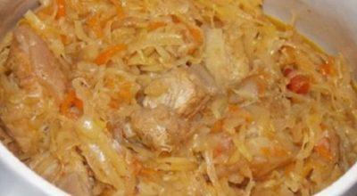 Привезла из Польши рецепт самого вкусного бигоса (бигуса) из свежей капусты с говядиной