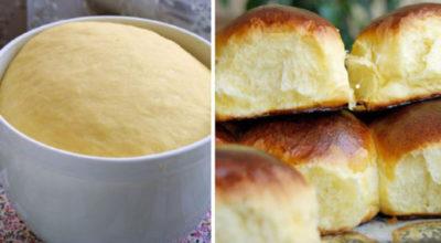 Пышные аппетитные булочки на дрожжах и молоке: вкусный рецепт