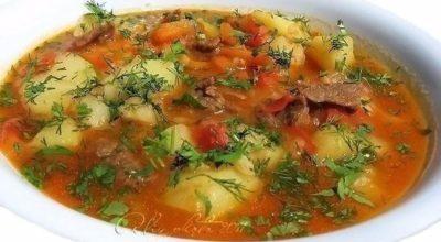 Шурпа — суп пришедший к нам с Востока