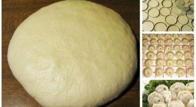 Универсальное супер тесто на пельмени и вареники
