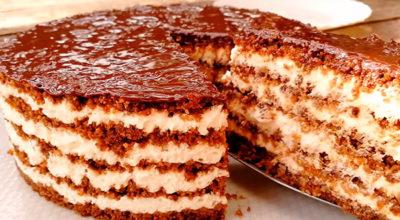 Тающая Загадка. Восхитительный торт без выпечки