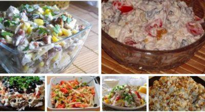 Топ — 6 самых вкусных салатов с КУРИНЫМ ФИЛЕ