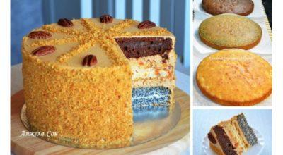 Торт «Дамский каприз» по авторскому рецепту Ирины Хлебниковой