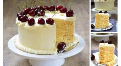 Торт «Молочная девочка». Потрясающий рецепт родом из Германии
