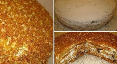 Торт, который покорил меня навсегда — медовый торт «Особенный»