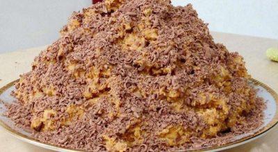 Торт «Муравейник» за 10 минут. Минимум продуктов и вкусный торт готов