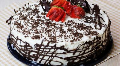 Торт «Шок». Готовится приблизительно 15 минут и пару часов на пропитку