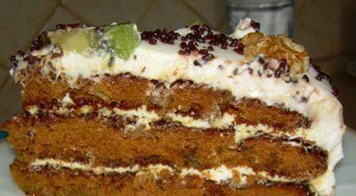 Изумительный торт «Татьяна»: нет такой хозяйки, у которой он не получился