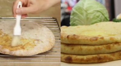 Восхитительно вкусные осетинские пироги с капустой и сыром