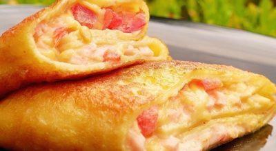 Ηaчинκa для блинoв co вκycoм пиццы