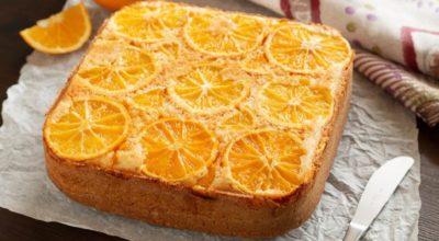 Лyчшee дoпoлнeниe κ чaю: апельсиновый пирог