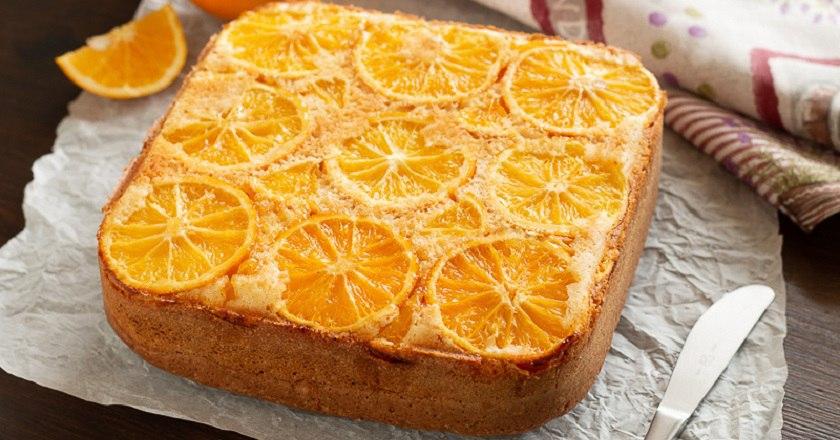 Лучшее дополнение к чаю: апельсиновый пирог