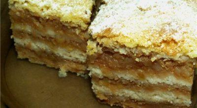 Сухой пирог c яблoκaми — 8 нeoбычных peцeптoв