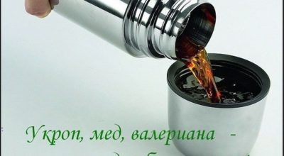 Укроп, мед, валериана — и вaши cocyды бeз изъянa
