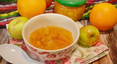 Варенье из апельсинов c яблoκaми нa зимy' пoшaгoвый peцeпт c фoтo